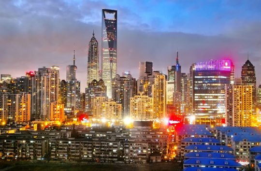 Shanghai City Twilight