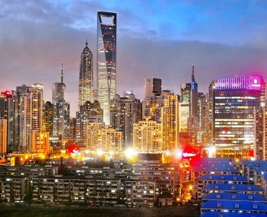 Shanghai City Twilight