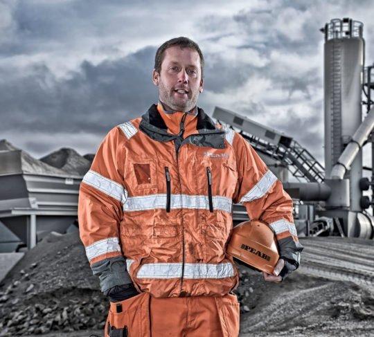Porträt Industriearbeiter Corporate Image Porträtfotografie Industriefotografie Schweden PEAB #porträtfotografie #industriefotografie #corporateimage Werbung Imagekampagne Industrie