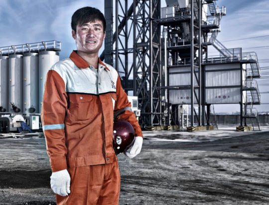Porträt Industriearbeiter Corporate Image Porträtfotografie Industriefotografie China #porträtfotografie #industriefotografie #corporateimage Werbung Imagekampagne Industrie