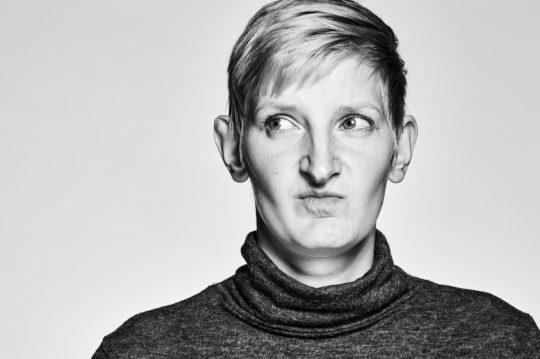 Porträtfotografie, schwarzweiss
