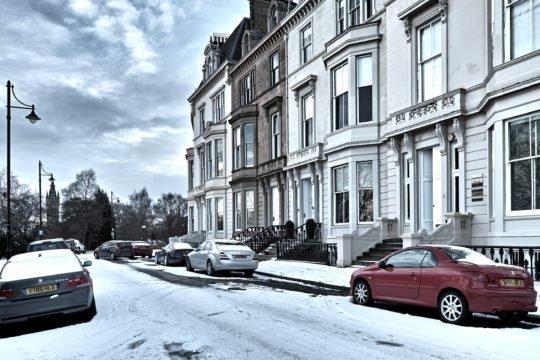 Winter in Glasgow