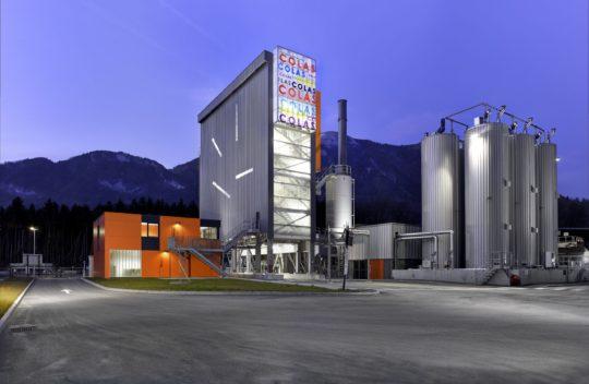 Industriefotografie, Twilightfotografie, Industrieanlage