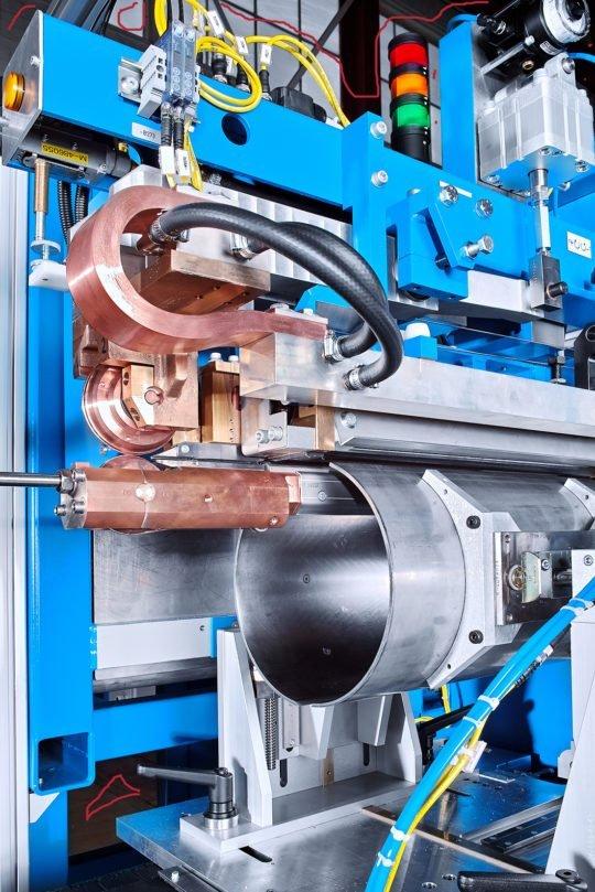 Werkzeugmaschine SOUTEC Schweiz Industriefotografie