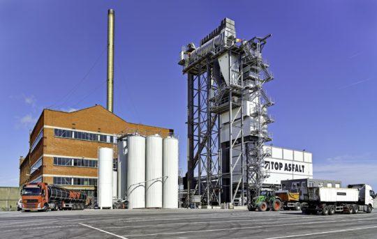 Industriefotografie, Asphaltmischanlage, Ammann